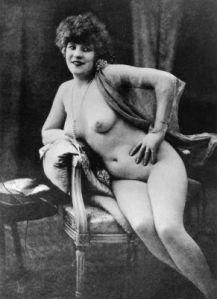 Erotikus levelezőlap 1900-körül