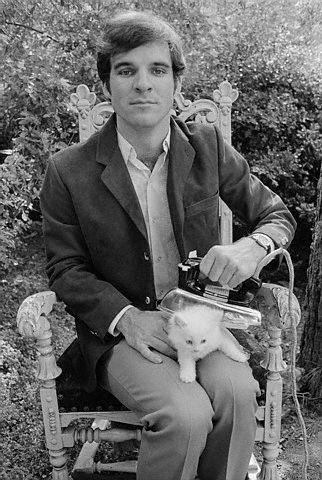Steve Martin macskát vasal