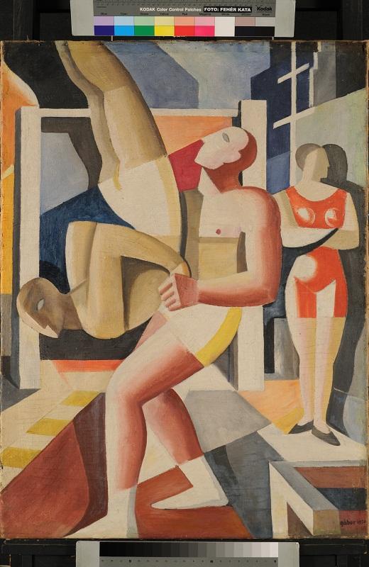 Gábor Jenő: Akrobaták, 1930