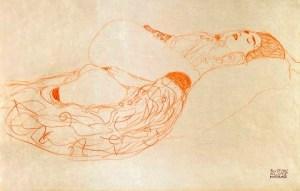Klimt erotikus rajz (forrás: yourartshop-noldenh.com)