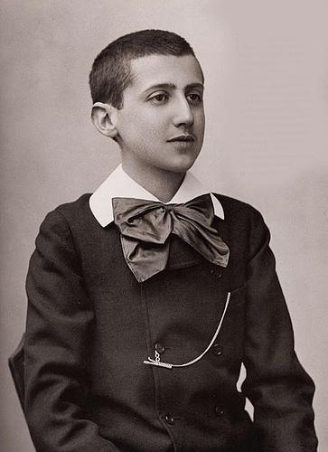 Az ifjú Marcel Proust 1887-ben