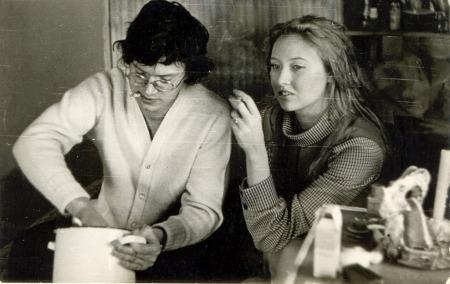 Eduard Limonov és felesége a regény keletkezési ideje környékén