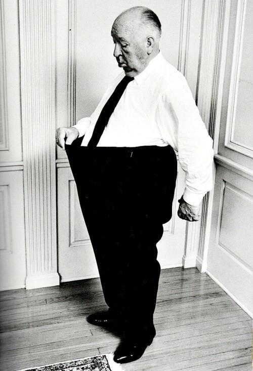Alfred Hitchcock gatyázik