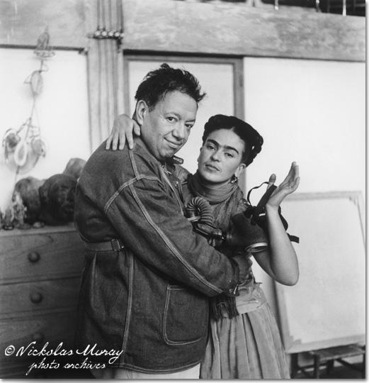 Diego Rivera és Frida Kahlo (fotó: Nickolas Muray)