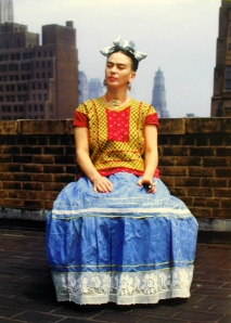 Frida New Yorkban (fotó: Nickolas Muray)