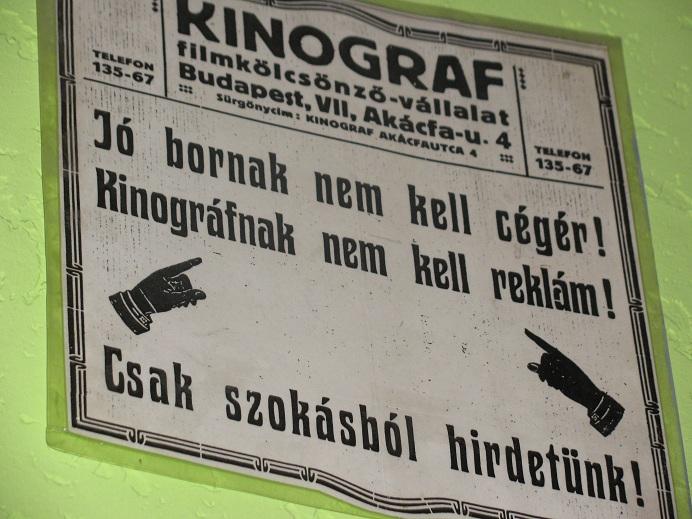 Kinográf (Izabella Carranza fotója)