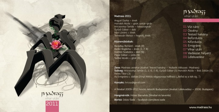A bemutatkozó Madrass-album borítója