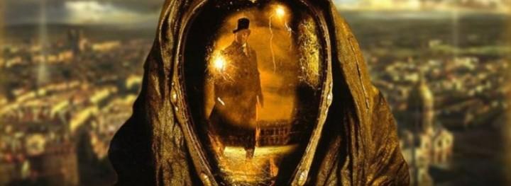 """A Vidocq c. film tükörmaszkja, hogy lássad a halálgrimaszod gyilkosod """"arcán"""""""