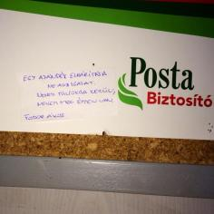 HAri posztolta Fodor Ákost a postán
