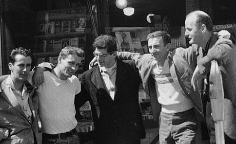 William S. Borroughs, Jack Kerouac, Allen Ginsberg, Neal Cassady, és még Valaki