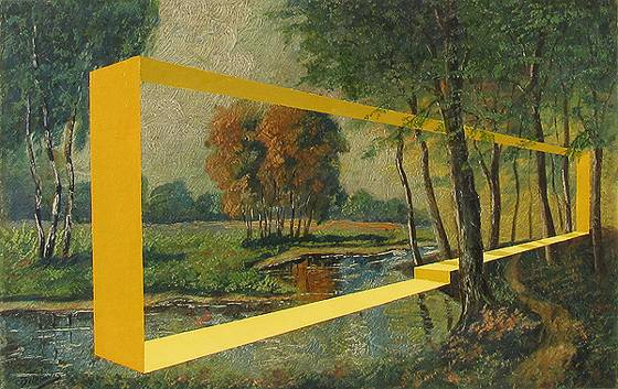 Elekes Károly: Tágított kép (2008)