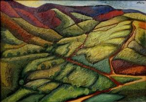 Pittnér Olivér:Tájkép