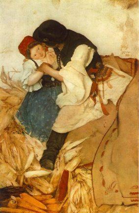 Hollósy Simon: Tengerihántás, 1885, Magyar Nemzeti Galéria