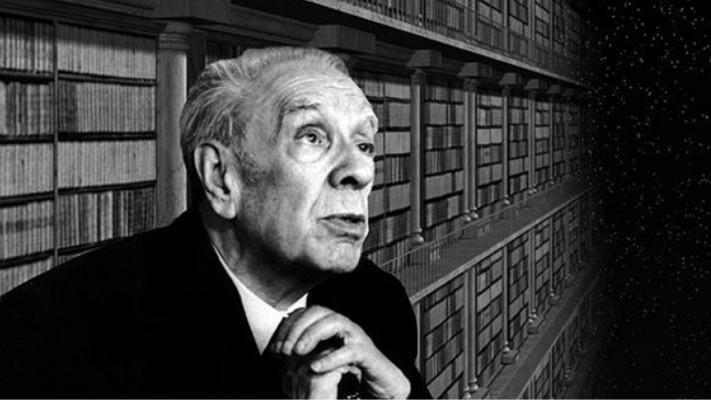 JORGE LUIS BORGES argentin költő, elbeszélő, esszéíró, irodalomtörténész, filozófus 1899. augusztus 24-én született Buenos Aires-ben. (Elhunyt 1986. június 14-én, Genfben.)