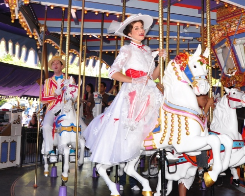 Disneyland, a King Arthur körhinta