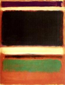 Magenta, fekete, zöld, narancssárgán (1947)