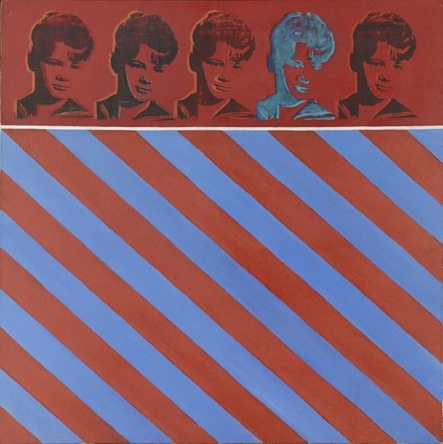 Bak Imre: Marika, 1967. Magántulajdon (fotó: Ludwig Múzeum)