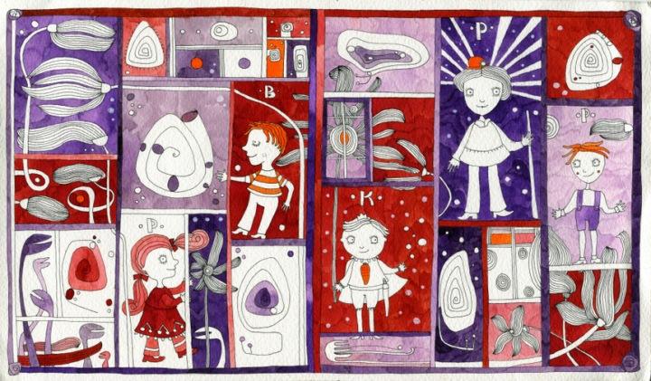 Gévai Csilla illusztráció