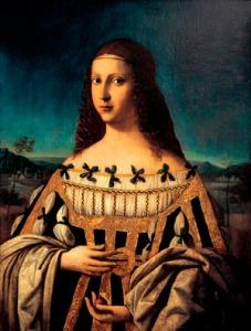 Bartolomeo Veneziano: Lucrezia Borgia