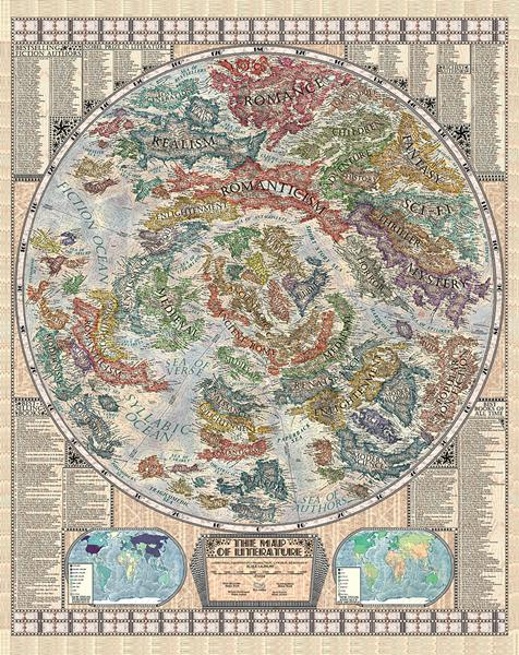 Irodalom-térkép