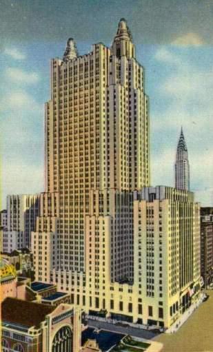 Az új Waldorf-Astoria (forrás: http://www.nyc-architecture.com/ )