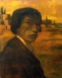Gulácsy Lajos: Önarckép, 1904