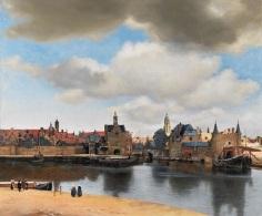 Delft látképe