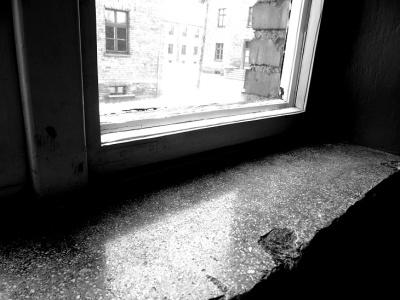 Blick auf dem Fenster Auschwitz 2. (Izabella fényképe)