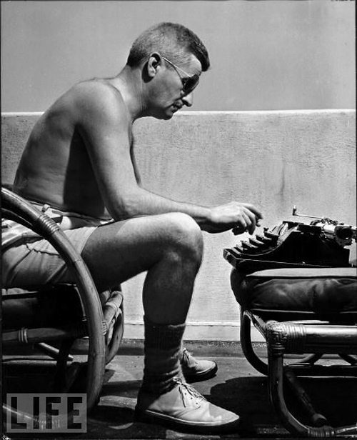 William Faulkner 1943-ban a LIFE címlapján