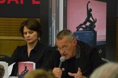 Szeifert Judit és Sárkány Győző - HUNGART könyvbemutató 2015 - Art Market