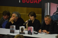 Lóska Lajos, Gaál József, Szeifert Judit, Sárkány Győző - HUNGART könyvbemutató 2015 - Art Market