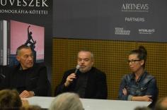 Sárkány Győző, Fehér László, Bódi Kinga HUNGART könyvbemutató 2015 - Art Market