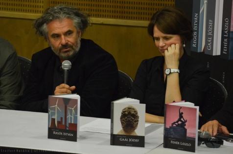 Gaál József és Szeifert Judit - HUNGART könyvbemutató 2015 - Art Market