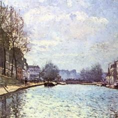 Látkép a Saint Martin csatornáról