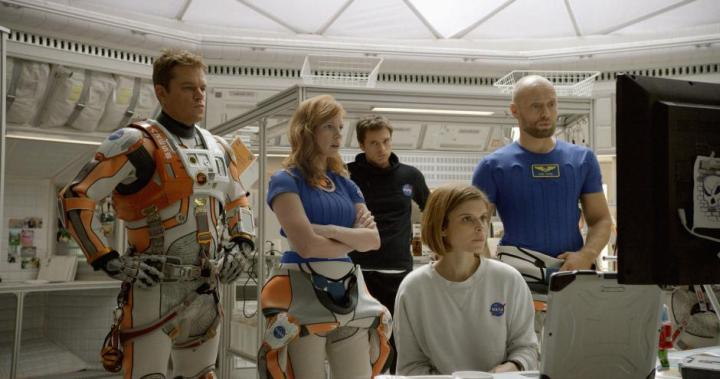 Matt Damon, Jessic Chastain, Kate Mara, Sebastian Stan, Aksel Hennie