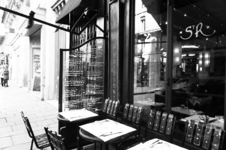 Cafe Saint Regis, Paris, Rue Jean du Bellay (Fotó: Izabella Carranza)