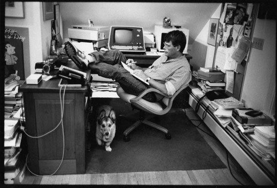 Stephen King valamikor az 1970-es évek végén