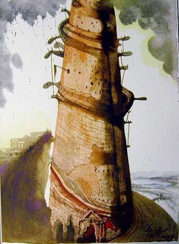 Salvador Dalí: Turris Babel