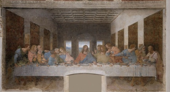 Da Vinci: Az utolsó vacsora, 1494-1499