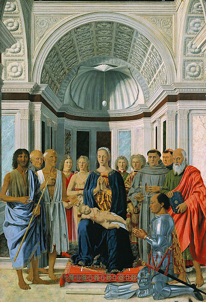 Piero della Francesca: Brera-Madonna