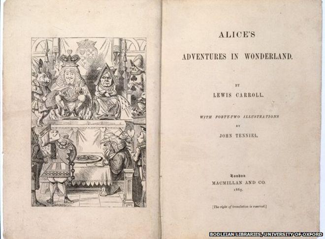 Alice in Wonderland, 1865
