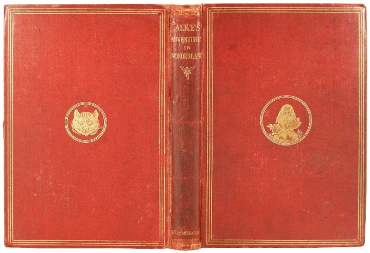 Alice in Wonderland, Macmillan&Co. 1865