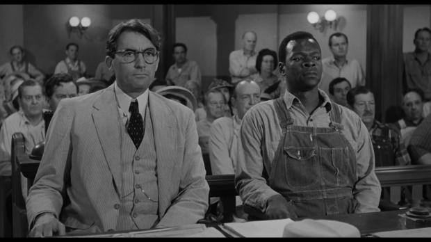 Jelenet a filmből - Gregory Peck és a Tim Robinsont alakító Brock Peters