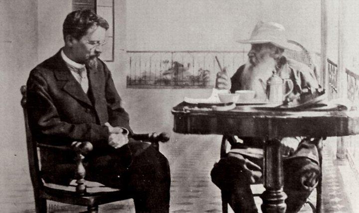 Csehov és Tolsztoj