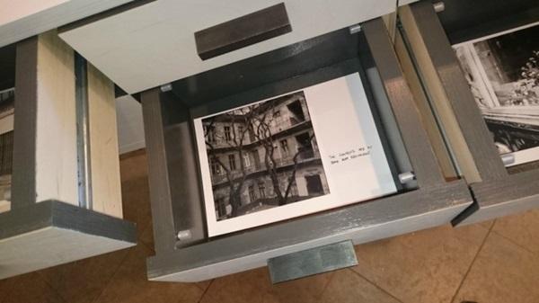 Farkas Dénes: A csend bizonyos fajtái, 2015, installáció, részlet. (fotó: artportal.hu)