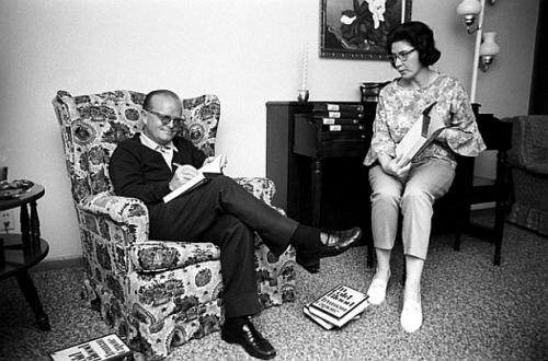 Capote és Lee, 1966, Holcomb, Kansas © Steve Schapiro/Corbis