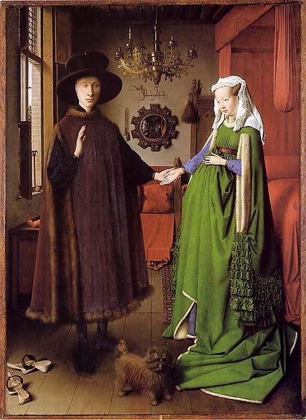 Jan van Eyck: Az Arnolfini házaspár, 1434
