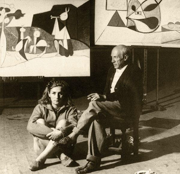 Picasso és Gilot 1946-ban