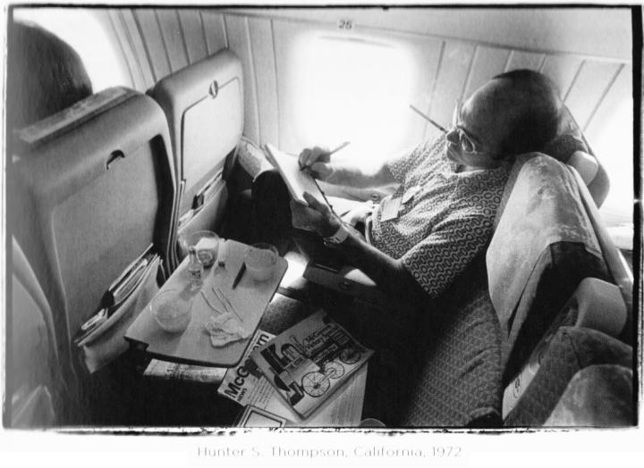 Úton Kaliforniába, 1972-ben (Fotó: Annie Leibovitz)