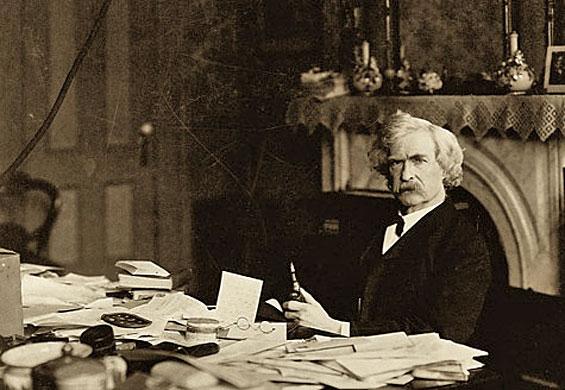 Mark Twain 1890 körül
